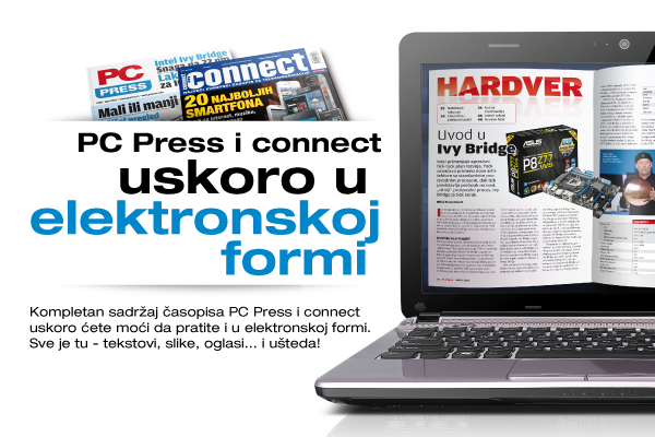 PC Press i connect uskoro u elektronskoj formi
