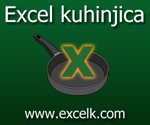 Excel kuhinjica