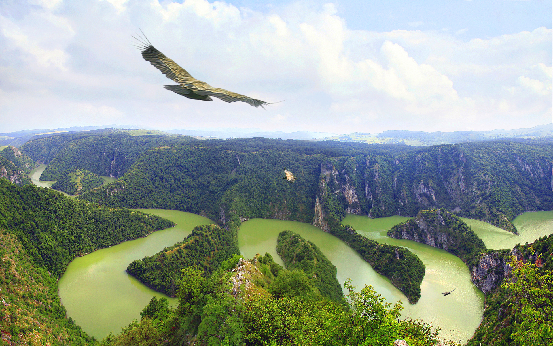 Serbia, the spring of beauty and health Uvac_s1