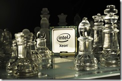 Intel Xeon 5500 Chess.  Mandatory Credit: Vismedia +44 (0)20 7613 2555