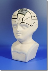 Intel Xeon 5500 phrenology head.  Mandatory Credit: VisMedia +44 (0)20 7613 2555