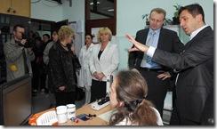 Dragan Djilas,gradonacelnik i Veselin Jevrosimovic,ComTrade u domu zdravlja BarajevoBeograd 2204 2009phot Predrag Mitic