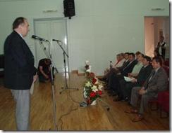 dr Aleksandar Jovanović, dekan Učiteljskog fakulteta u Beogradu, sa uvaženim gostima