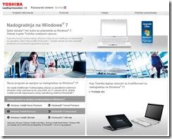CT Computers: od danas Toshiba sa besplatnom nadogradnjom na Windows 7
