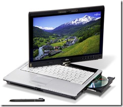 Fujitsu: multi-touch upravljanje za LIFEBOOK T5010