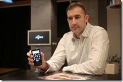 Goran Anicic preneo je svim dobitnicima svoje iskustvo u koriscenju telefona Samsung Galaxy