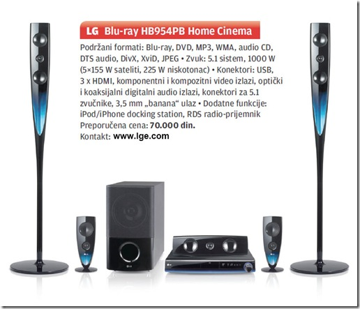 PC Press: LG Blu-ray HB954PB Home Cinema