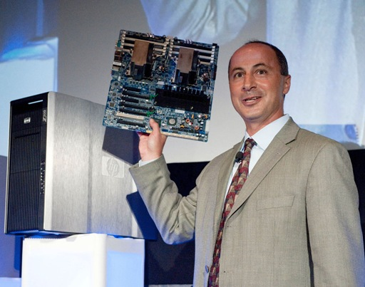 Hewlett Packard Press Event, Raleigh Studios - Jim Zafarana predstavlja novu generaciju HP radnih stanica