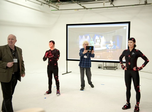 Hewlett Packard Global Press Event, Raleigh Studios - PhaseSpace Motion Capture Workshop