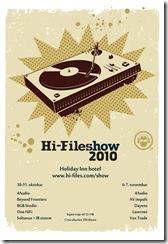 Hifiles-show-2010-najava