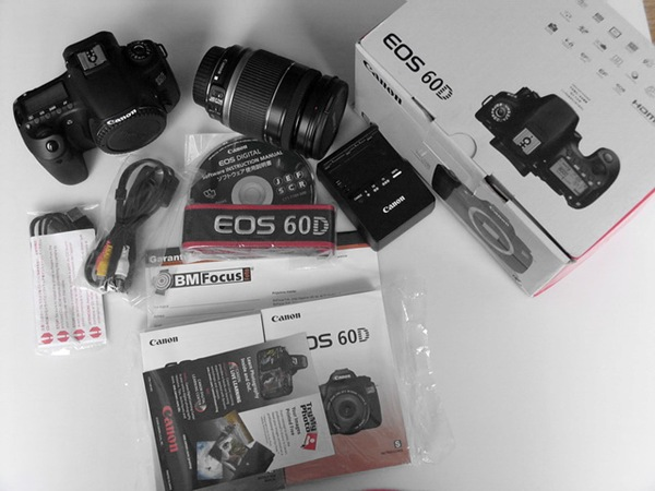 Canon EOS 60D acc