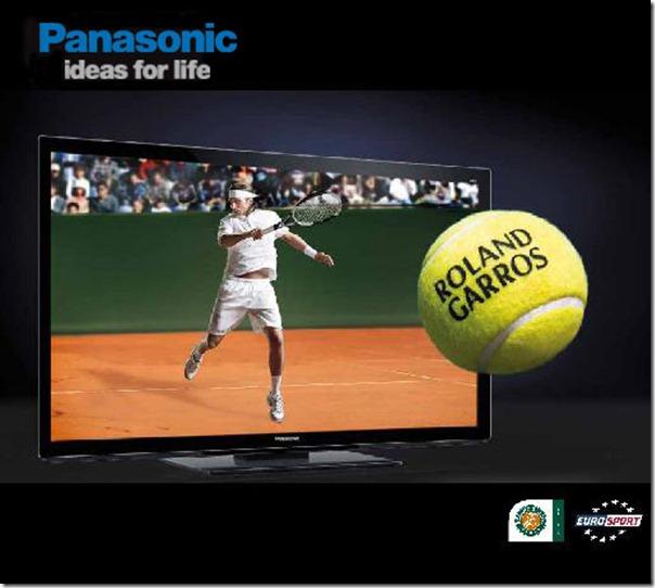 Panasonic-Roland Garros Banner