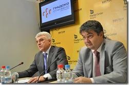 Slobodan Miljkovic i Vladimir Lucic - Potpisivanje pisma o namerama 2