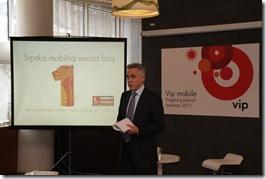 Tanasis Kacirumpas, predsednik UO Vip mobile
