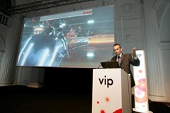 Dejan Kastelic, Clan UO Vip-a demonstrira LTE mrezu