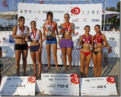 VIP Beachmasters Beach volleyball championship, Belgrade SERBIA - 2/09/2012.