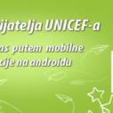 Android aplikacija Kluba prijatelja UNICEF-a