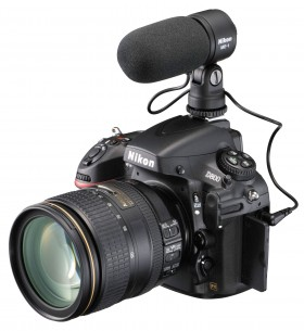 Mikrofon je samo jedan od eksternih opcionih dodataka koji će sigurno interesovati ljubitelje video klipova