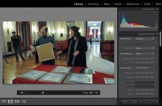 Znatno poboljšan tretman video klipova koji se ravnopravno katalogizuju ali i manjim brojem opcija obrađuju opcijama na Quick tabulatoru sa desne strane. I slajder internig Player-a sadrži interesantne opcije