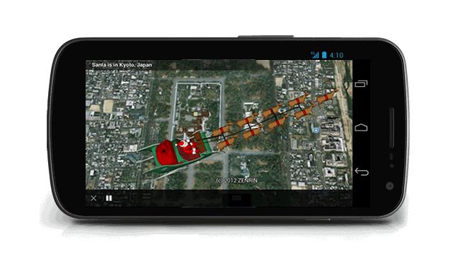 Santa Tracker 3D Santa