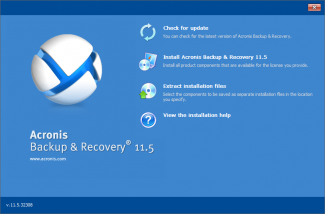 01. Acronis Wks and Exchange srv v11.5