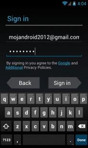 Povezivanje sa Gmail nalogom – pazite da ne pogrešite kod korisničkog imena ili lozinke