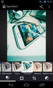 Slike se mogu obrađivati direktno na Nexus‑u 4. Zahvaljujući moćnoj platformi i jednostavnom metodu rukovanja, rad je veoma lak.