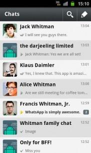 WhatsApp Messenger 2.8 2
