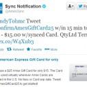 Amex omogućava plaćanje tweetom