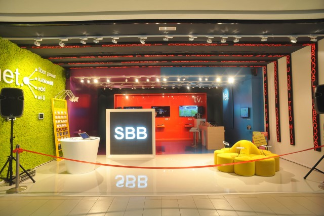 SBB showroom