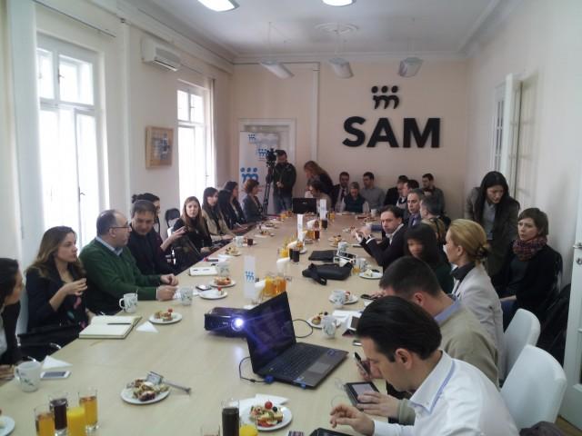 radni Dorucak TAG Media Group u SAM-u