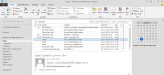 Outlook 2013: EMail klijent, ali i mnogo više od toga... (kliknite za veću sliku)