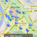 Android aplikacija - Parkiraj Beograd PS 1.5