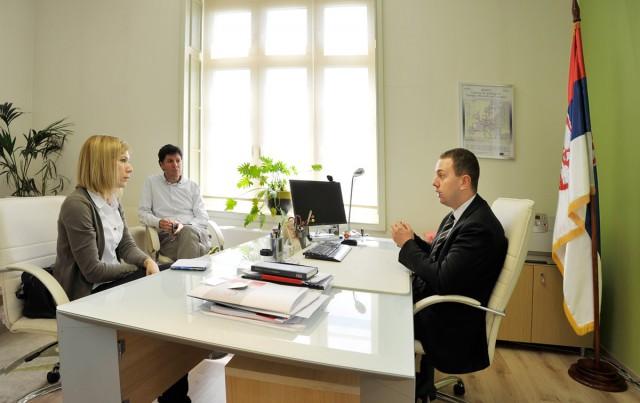 Stefan Lazarević, državni sekretar za telekomunikacije, informaciono društvo i poštanski saobraćaj.