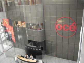 Ulazni hol u Océ-ovoj novoj glavnoj zgradi u Venlou, Holandija izgrađenoj 2001.