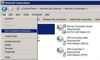 Windows 7 računar postaje VPN server