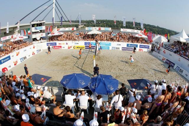 Final match, Kaczmarek-Walkenhorst GER vs Hadrava-Kufa, R. CZE, 2012 CEV Beach Volleyball European Championship Masters in Novi Sad, Serbia, Sunday, July 08, 2012. (credit: Pedja Milosavljevic/thepedja@gmail.com/+381641260959)