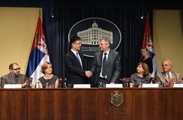 Potpisivanje sporazuma izmedju Samsunga i Ministarstva rada zaposljavanja i socijelne politike