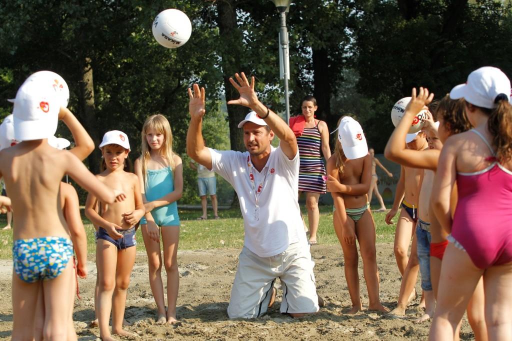 2012 CEV Beach Volleyball European Championship Masters in Novi Sad, Serbia, Friday, July 06, 2012. (credit: Pedja Milosavljevic/thepedja@gmail.com/+381641260959)