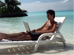 beach-working