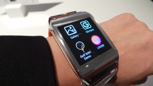 Galaxy Gear (Photo: PC Press)