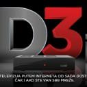 SBB D3i - TV kanali i bez kabla