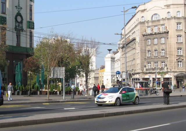 Zbog povoljnih vremenskih uslova Street View i u Nišu ove godine