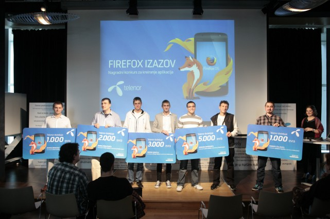 Pobednici Firefox Izazov konkursa