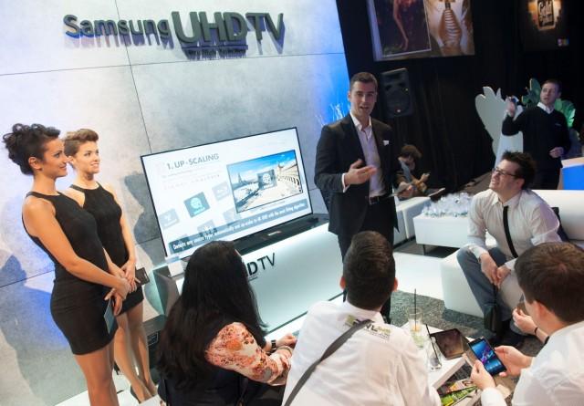 Predstavljanje Samsung UHD TV na Fashion Week-u