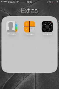 Sada u folderima može da bude objedinjeno više aplikacija nego ranije; kada ih ima više od devet, moramo horizontalno da skrolujemo.