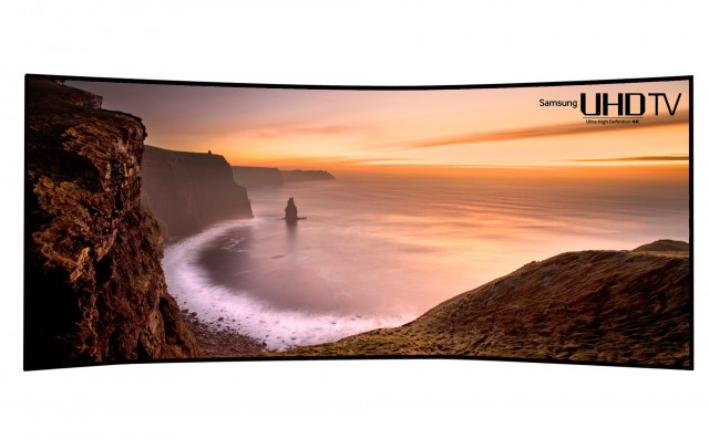 Curved UHD TV(105)