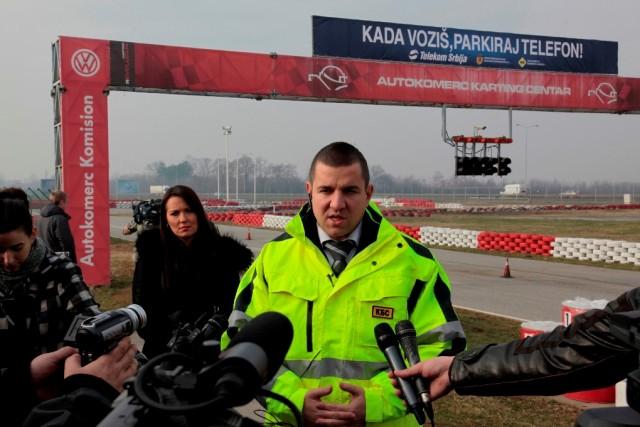 Damir Okanovic, direktor Srpskog komiteta za bezbednost saobracaja