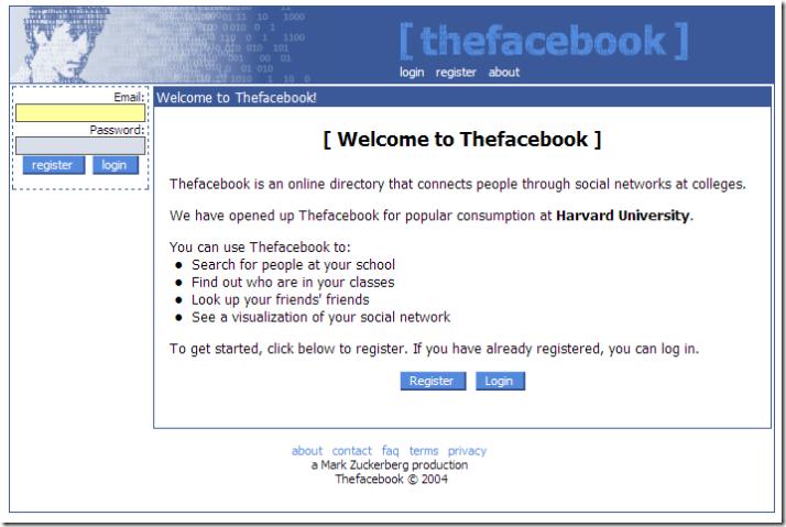 Ovako je izgledao Facebook pre 10 godina