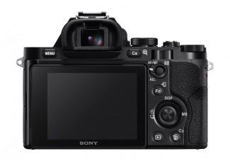 Sony Alpha 7R pozadi